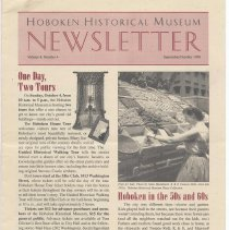 Image of Hoboken Historical Museum Newsletter [Second Series], Volume 4, Number 4, September - October 1998 - Periodical