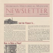 Image of Hoboken Historical Museum Newsletter [Second Series], Volume 7, Number 6,January - February 2002 - Periodical