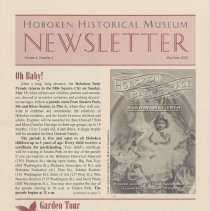 Image of Hoboken Historical Museum Newsletter [Second Series], Volume 8, Number 2, May - June 2002 - Periodical