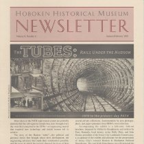 Image of Hoboken Historical Museum Newsletter [Second Series], Volume 8, Number 6, January - February 2003 - Periodical
