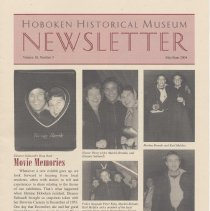 Image of Hoboken Historical Museum Newsletter [Second Series], Volume 10, Number 3, May - June 2004 - Periodical