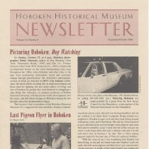 Image of Hoboken Historical Museum Newsletter [Second Series], Volume 10, Number 5, September - October 2004 - Periodical
