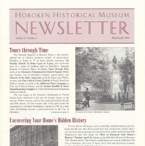 Image of Hoboken Historical Museum Newsletter [Second Series], Volume 11, Number 2, March - April 2005 - Periodical