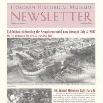 Image of Hoboken Historical Museum Newsletter [Second Series], Volume 11, Number 3, May - June 2005 - Periodical