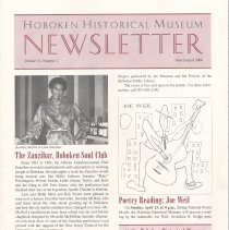Image of Hoboken Historical Museum Newsletter [Second Series], Volume 12, Number 2, March - April 2006. - Periodical