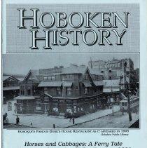Image of Hoboken History, No. 1, Autumn 1991. - Serial