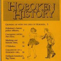 Image of Hoboken History, No. 7, Spring 1993 - Serial