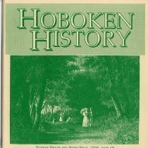 Image of Hoboken History, No. 8, 1993. - Serial