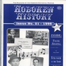 Image of Hoboken History, No. 21, 1998. - Serial