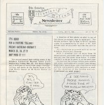 Image of Hoboken Historical Museum Newsletter [First Series], Volume 2, No. 15, April 5, 1988. - Periodical