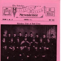 Image of Hoboken Historical Museum Newsletter [First Series], Volume 2, No. 27, May, 1989. - Periodical