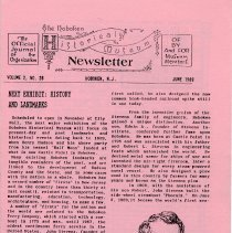 Image of Hoboken Historical Museum Newsletter [First Series], Volume 2, No. 28, June, 1989. - Periodical