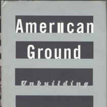 Image of American Ground: Unbuilding the World Trade Center. - Book