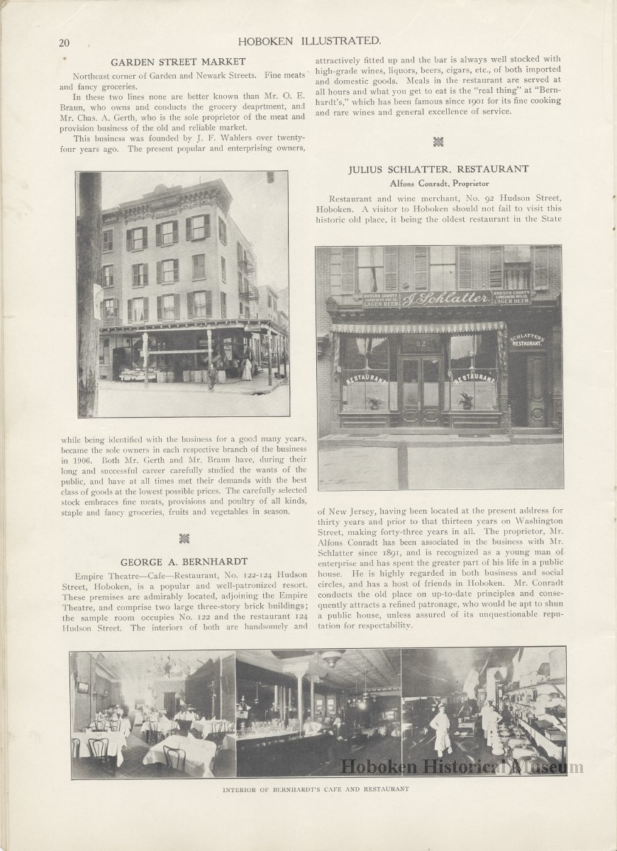 Hoboken Illustrated New York Dawn Special Edition January 1909