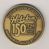 Image of Commemorative medal: Mayor David Roberts Inaugural July 1st 2005. Issued 2005. - Medal, Commemorative