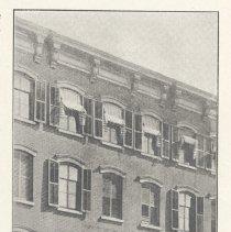 Image of Printed B+W photograph of L. Hanley, Florist, 515 Washington St., Hoboken, no date, ca. 1905-1908. - Print, Photographic