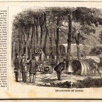 Image of Digital image of 19th century print  - Elysian Fields, Hoboken. - Print