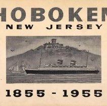 Image of Booklet: Hoboken Centennial 1855-1955. - Booklet
