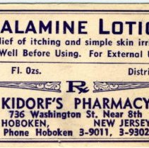 Image of typical label