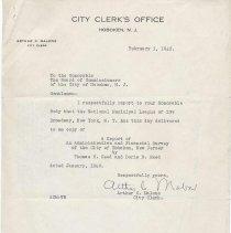 Image of letter-city clerk