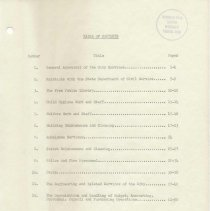 Image of contents page ii