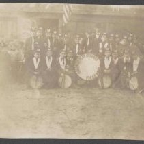 Image of Digital image of photo of the Hoboken Playgrounds Field Band, Hoboken, no date, circa 1900-1915. - Print, Photographic