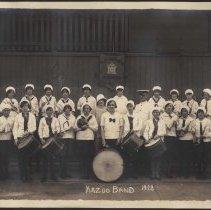 Image of Digital image of photo of the Kazoo Band (a Hoboken Playgrounds Field Band), Hoboken, (probably May) 1928. - Print, Photographic