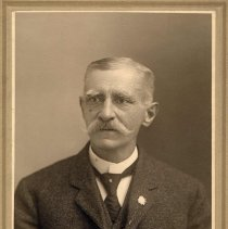 Image of Digital image of photo of an elderly Frank Szontag,, Hoboken, no date, circa 1915-1925. - Photograph