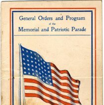 Image of Digital images of booklet, General Orders and Program of the Memorial and Patriotic Parade, City of Hoboken, N.J., May 30th, 1917. - Booklet