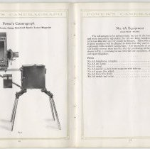 Image of pp 16-17 Cameragraph No. 6A Lamphouse, Lamp, Stand & Lower Magazine