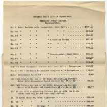 Image of attachment pg 10, rotated: revised price list Feb. 15, 1918