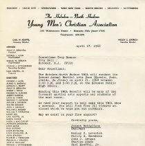 Image of Digital images of letter 1968. Museum does not own original items.