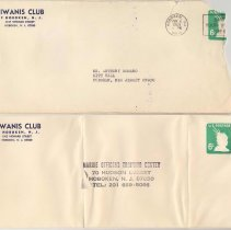 Image of envelope + return envelope
