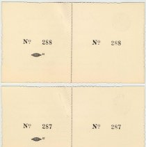 Image of reverse tickets