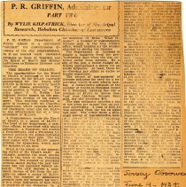 Image of clipping 2: Griffin part 2