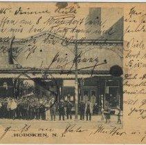Image of Postcard: J. Struckmeyer Annex, Hoboken, N.J., postmarked 1902. - Postcard