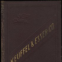 Image of Catalogue of Keuffel & Esser Co., New York; 37th edition. 1928; Dec. 1934 price list. - Catalog