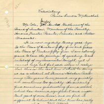 Image of manuscript pg 1 of 6