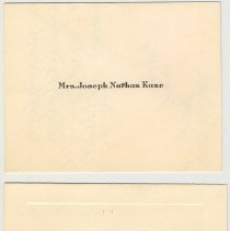 Image of 19 engraved note cards