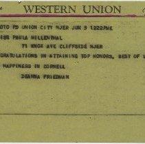 Image of 39 telegram (telefax)