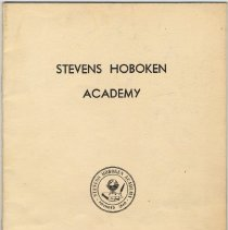 Image of Digital images of prospectus, Stevens Hoboken Academy 1948-1949; booket of curricula and programs. - Booklet