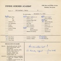 Image of report Dec. 7, 1951