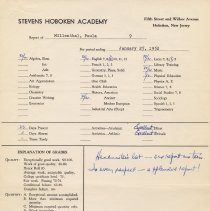 Image of report Jan. 25, 1952