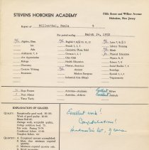 Image of report March 14, 1952