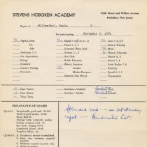 Image of report Nov. 2, 1951