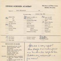 Image of report Jan. 23, 1953