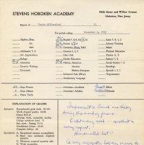Image of report Dec. 4, 1953