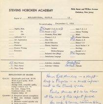 Image of report Dec. 3, 1954