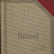 Image of Digital images of Record Book of the Sisterhood of Congregation Adas Emuno, (Hoboken), Feb. 15, 1949 to June 14, 1951. - Records