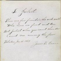 Image of 28 James E. Coane 1879